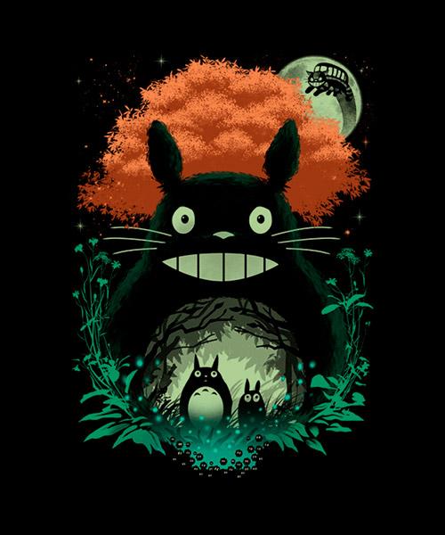 Cine-Ilustracion-Mi-vecino-Totoro