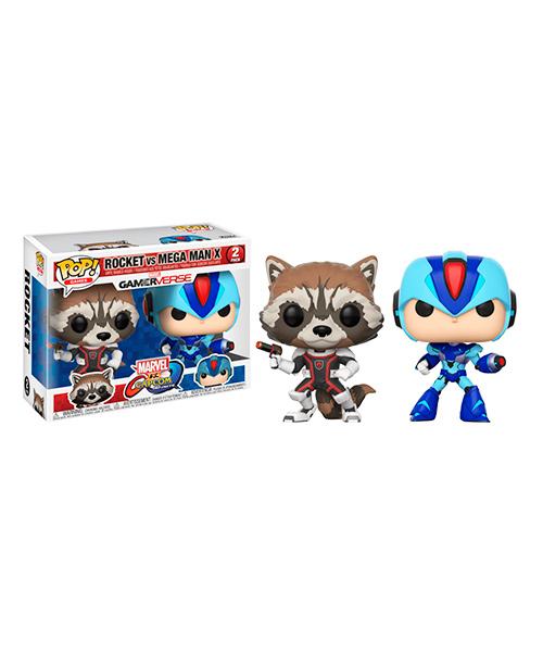 Funko Rocket VS Mega Man X (2 pack)