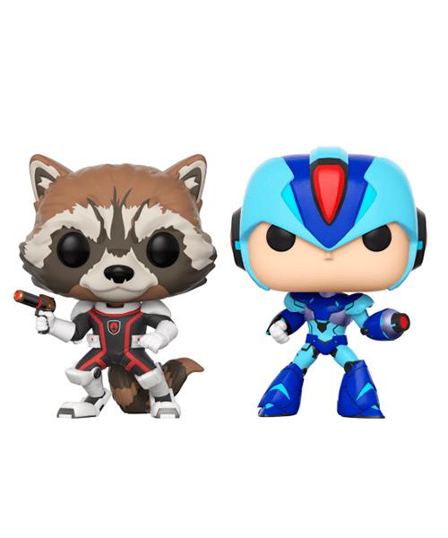 Funko Rocket vs Mega Man X