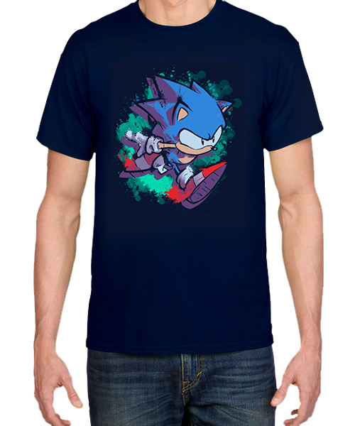 Videojuegos-Camiseta-ElResplandorDeSonic