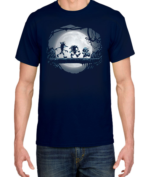 Videojuegos-Camiseta-Matata-Crash-Sonic-y-Mario