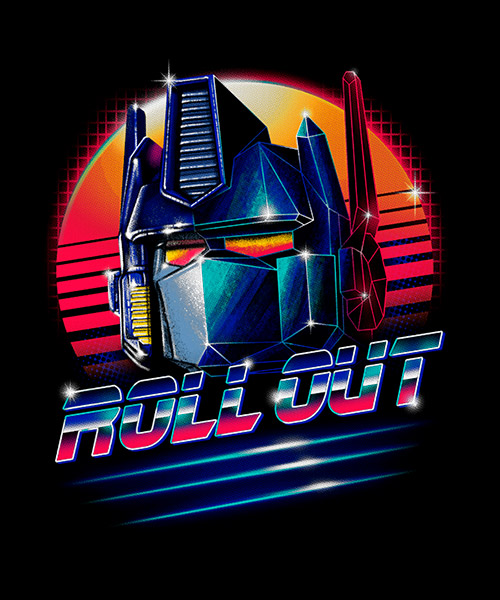 Cine-Camiseta-Transformers-Roll-Out