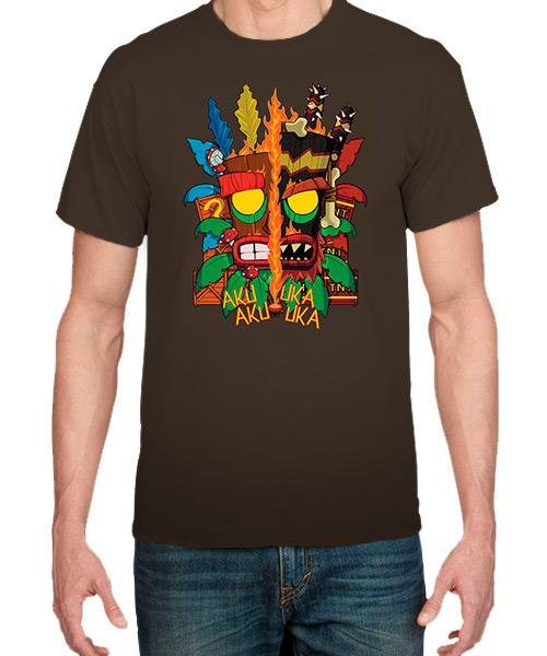 Videojuegos-Camiseta-Aku-Aku-y-Uka-Uka