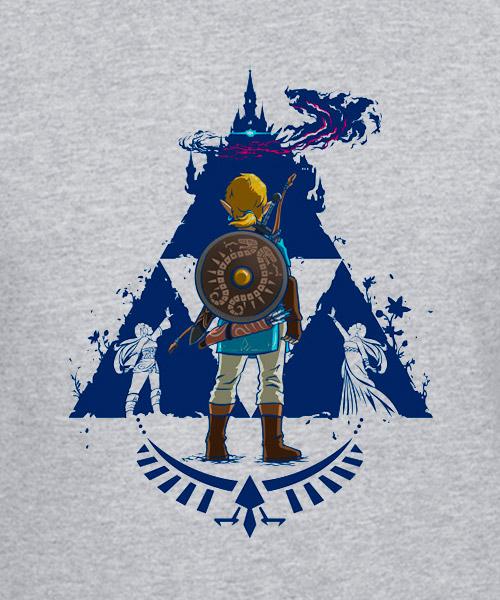 Videojuegos-Camiseta-El-respirar-de-Zelda