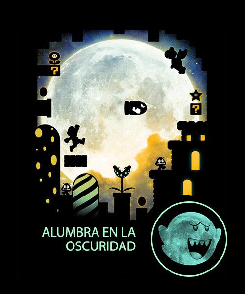 Videojuegos-Ilustracion-Mario-Bross-nocturno