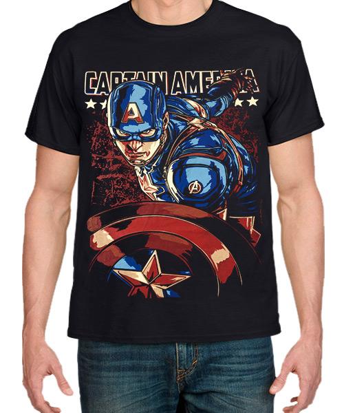 Cine-Camiseta-Capitan-America