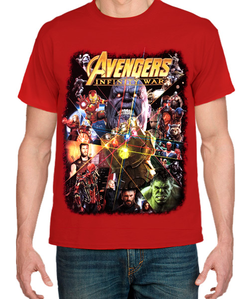 Camiseta Avengers Infinity War