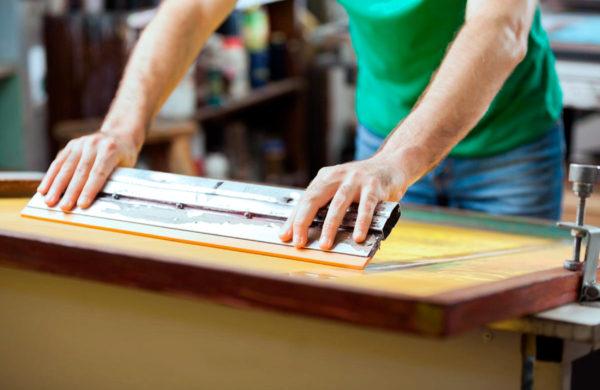 Impresión de camisetas en Serigrafía en Mandrágora Store