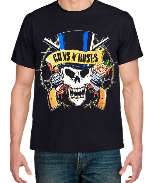 Música Camiseta Guns N Roses Bad Obsession