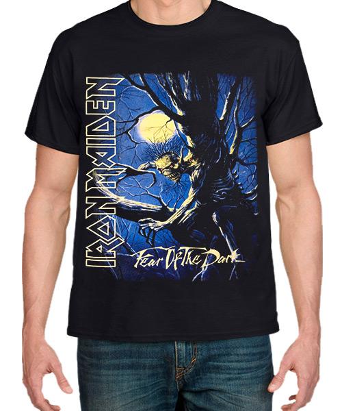 Musica-Camiseta-Iron-Maiden-Fear-of-the-Dark