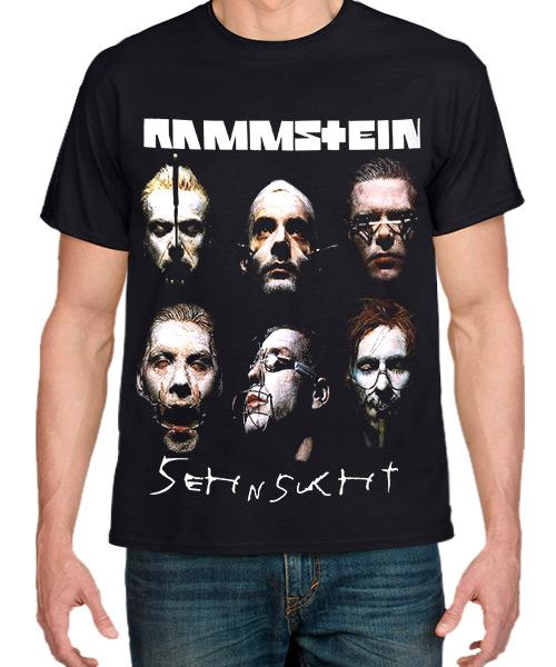 Musica-Camiseta-Rammstein-Sehnsucht