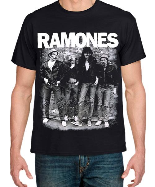 Musica-Camiseta-Ramone