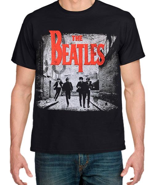 Música Camiseta The Beatles Vintage