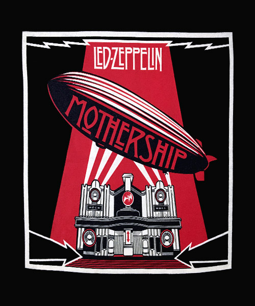 Música Ilustración Led Zeppelin Mothership