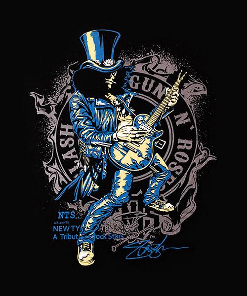 Musica-Camiseta-Slash-Guns-N-Roses