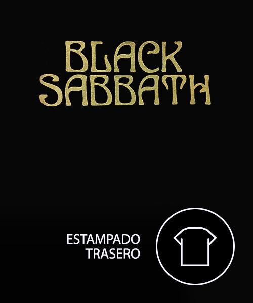 Música Camiseta Black Sabbath Never Say Die
