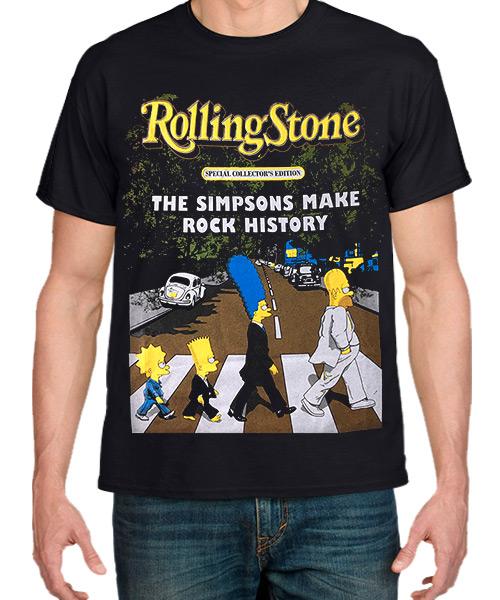 Series-Camiseta-Revista-Rolling-Stone-con-Los-Simpsons