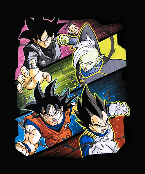 Series-Camiseta-Dragon-Ball-Super