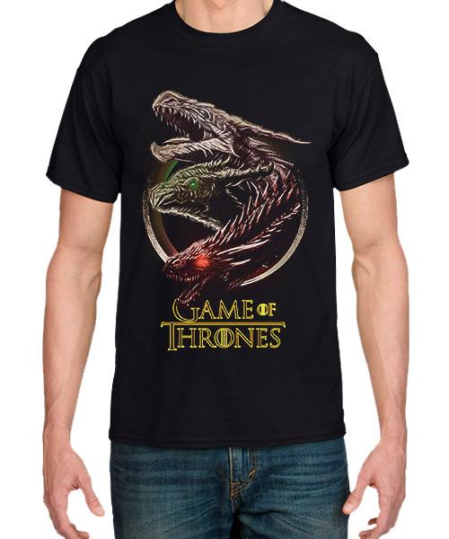 Camiseta Dragones de Game Of Thrones
