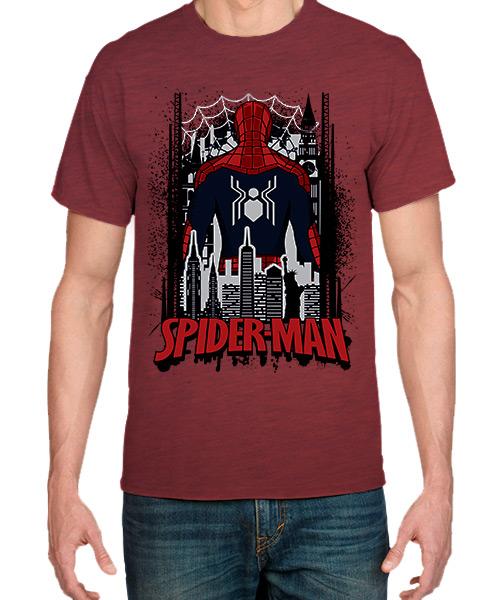Camiseta SpiderMan Lejos de Casa