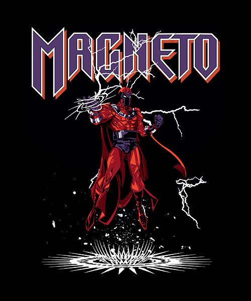 Camiseta Magneto de X-Men