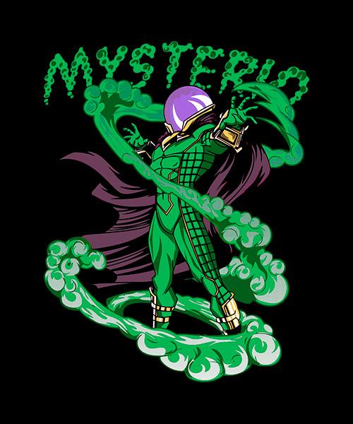 Camiseta Mysterio de Spiderman