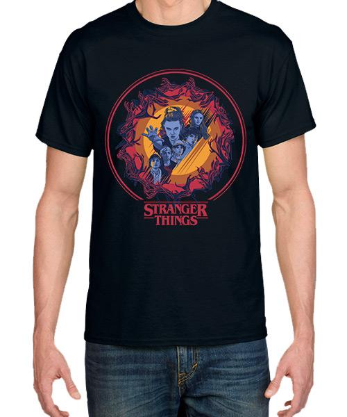 Camiseta El Bosque de Stranger Things