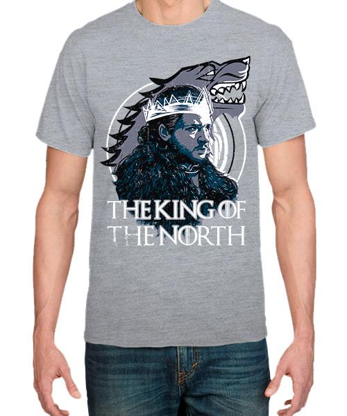 Camiseta Jon Snow de Game Of Thrones