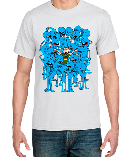 Camiseta Rick and Morty y los Meeseeks