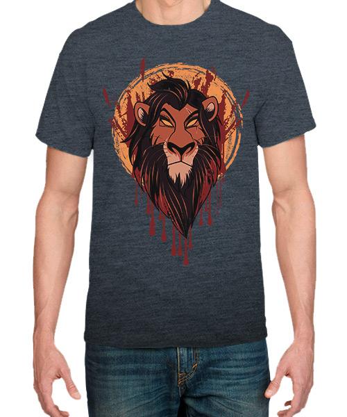 Camiseta Scar del Rey León