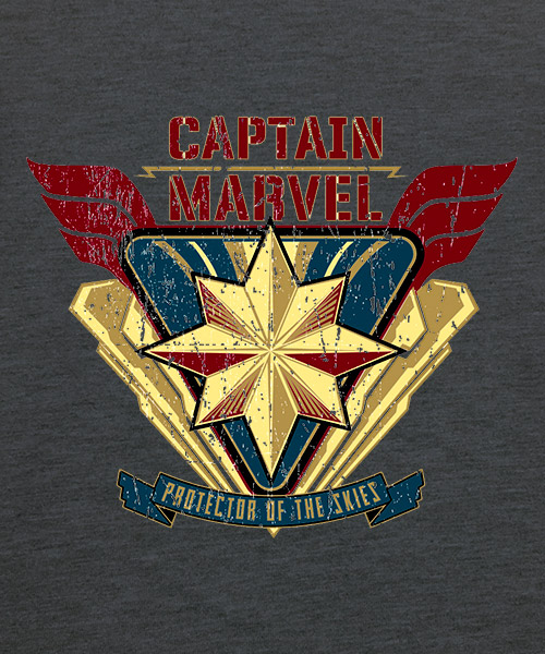 Camiseta Captain Marvel
