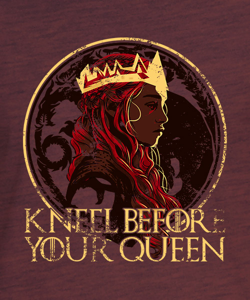 Camiseta Daeneys de Game of Thrones