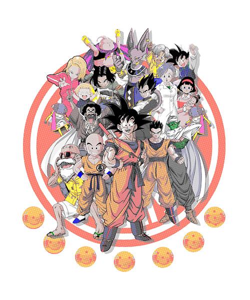 Camiseta Dragon Ball Super El Triunfo
