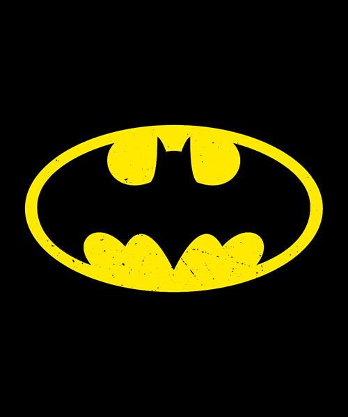 Camiseta Logo Clásico de Batman