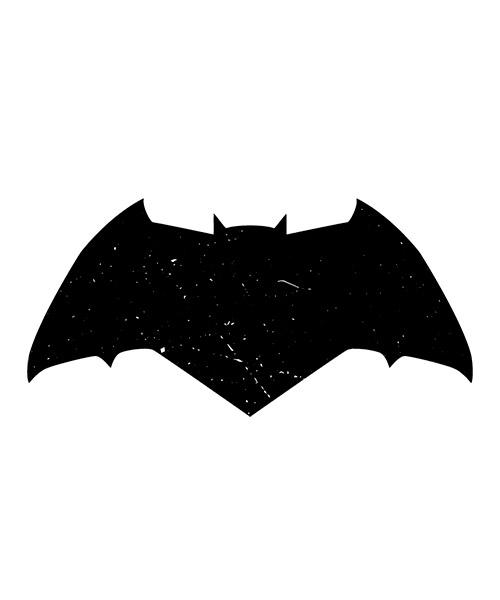 Camiseta logo Batman Liga de La Justicia
