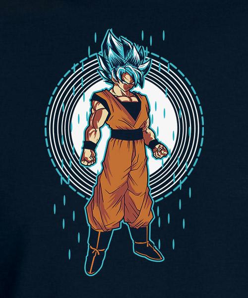 Camiseta Goky Blue Dragon Ball Super