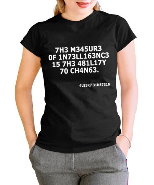 Camiseta Intelligence