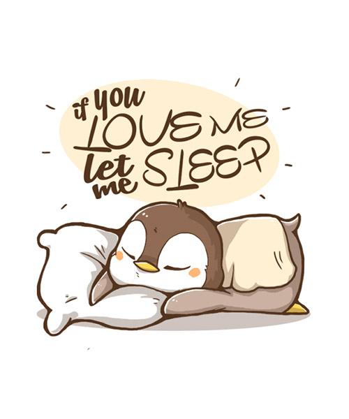 Camiseta Let Me Sleep