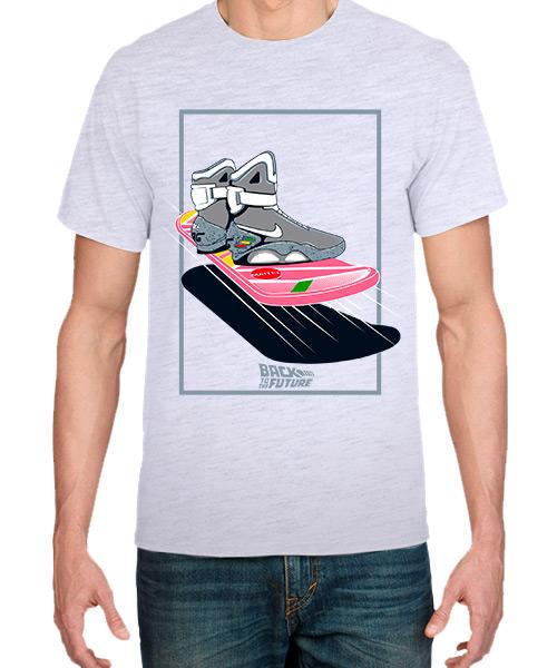 Camiseta Back to the Future Nike Mag