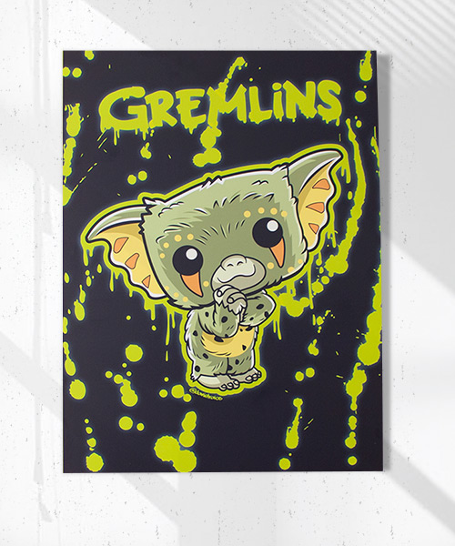 Cuadro Gremlins Funko Pop!