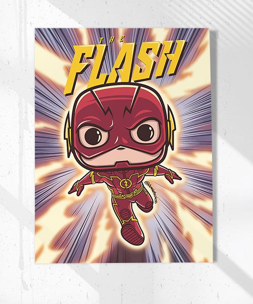 Cuadro Flash Funko Pop!