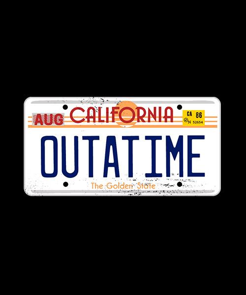 Camiseta Back To The Future California