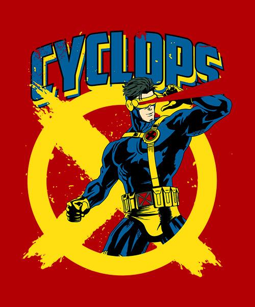 Camiseta Cíclope de X Men
