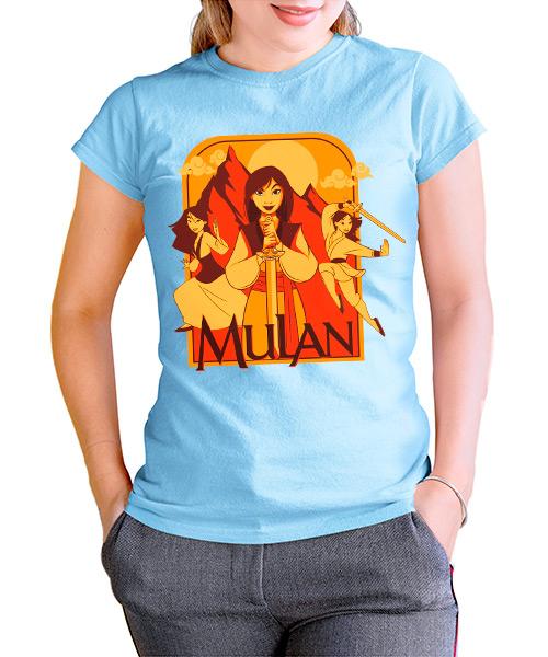 Camiseta Mulan de Disney