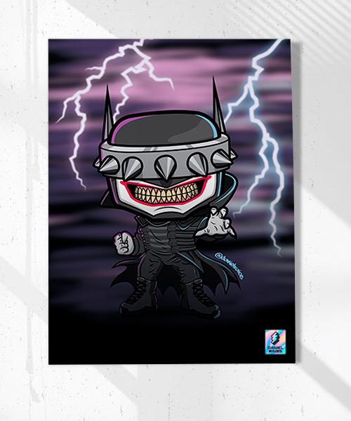 Cuadro Batman Who Laughts Funko Pop!