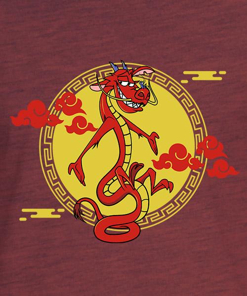 Camiseta Mushu de Mulan