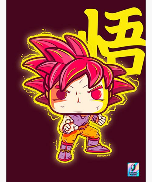 Cuadro Goku Funko Pop!