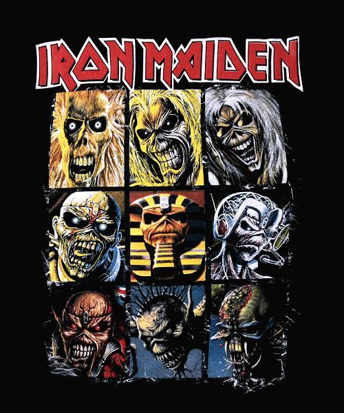 Musica-Camiseta-Iron-Maiden