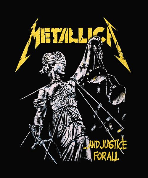 Camiseta And Justice For All de Metallica