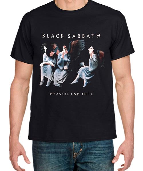 Camiseta Heaven and Hell de Black Sabbath